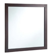 Design House 30-inch by 30-inch Vanity Mirror, Espresso - 547091
