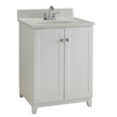 Design House Furniture-Style Vanity Cabinet, 24-In by 21-In, White - 547117