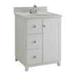 Design House Furniture-Style Vanity Cabinet, 24-In by 21-In, White - 547125