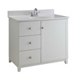 Design House Furniture-Style Vanity Cabinet, 30-In by 21-In, White - 547141