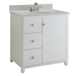 Design House Furniture-Style Vanity Cabinet, 36-In by 21-In, White - 547158