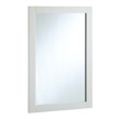 Design House 20-inch by 30-inch Vanity Mirror, Semi-Gloss White - 547208