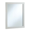 Design House 24-inch by 30-inch Vanity Mirror, Semi-Gloss White - 547216