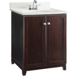 Design House Furniture-Style Vanity Cabinet, 24-In by 21-In, Espresso - 547257