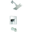 Design House Karsen Tub and Shower Faucet, Chrome Finish - 547604