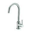 Design House Eastport Single Handle Kitchen Faucet, Chrome Finish - 547695