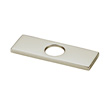 Design House 6-Inch Deck Plate, Satin Nickel Finish - 547752