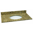 Design House 552422 Single Bowl Granite Vanity Top, 37-Inch by 22-Inch