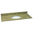 Design House 552430 Single Bowl Granite Vanity Top, 49-Inch by 22-Inch