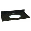 Design House 552547 Single Bowl Granite Vanity Top, 37-Inch by 22-Inch, Ubatuba