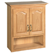 Design House 552844 Richland Bathroom Wall Cabinet with 2-Doors, 26.7in x 30in