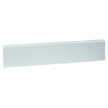 Design House 553339 22-Inch Marble Side Splash, Solid White