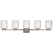 Design House 556175 Oslo Light Indoor Wall Mount in Satin Nickel