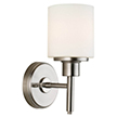Design House 556183 Aubrey Indoor Light Wall Mount in Satin Nickel