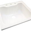 Design House Laundry Sink, 25-In by 22-In, Solid White - 557686