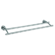 Design House 560326 Geneva 24-Inch Double Towel Bar, Satin Nickel Finish