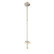 Design House 570911 Eastport Indoor Light Pendant Stem in Satin Nickel