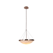 Design House 573139 Eastport Indoor Light Bowl Pendant 52' in Satin Nickel