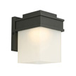 Design House Bayfield LED Outdoor Wall Light, Black - 578120