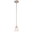 Design House Perth Mini Pendant Light, Satin Nickel Finish - 578310