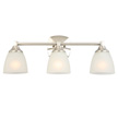 Design House Perth 3-Light Vanity Light, Satin Nickel Finish - 578336