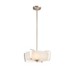 Design House Perth 4-Light Pendant, Satin Nickel Finish - 578344