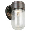 Design House Harris LED Outdoor Wall Sconce, Oil Rubbed Bronze - 578427