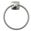 Design House Perth Towel Ring, Satin Nickel Finish - 580829