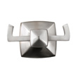 Design House Perth Double Robe Hook, Satin Nickel Finish - 580845