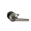 Design House Eastport Bed and Bath Lever, Reversible, Nickel - 580969