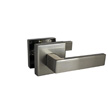 Design House Karsen Hall and Closet Door Lever, Reversible, Nickel - 581108