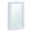 Design House Concord Medicine Cabinet Mirror with 1-Door and 2-Shelves - 590505