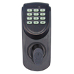 Design House 702548 Keypad Deadbolt, Adjustable Backset, Brushed Bronze Finish