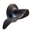 Design House 726992 Stratford Left Hand Dummy Door Knob, Oil Rubbed Bronze