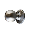 Design House 727107 Bay Dummy Door Knob, Satin Nickel
