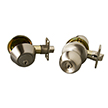 Design House 727149 Bay 6-Way Latch Entry Door Knob and Deadbolt Combo, Nickel