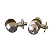 Design House 727347 Canton 6-Way Latch Entry Door Knob and Deadbolt Combo