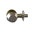 Design House 727495 Double Cylinder Deadbolt, Satin Nickel