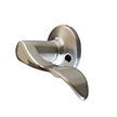 Design House 727925 Stratford Dummy Door Knob, Satin Nickel