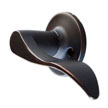 Design House 727974 Stratford Dummy Door Knob, Oil Rubbed Bronze