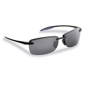 Flying Fisherman 7305BS Cali Polarized Sunglasses, Black Frame With Smoke Lenses