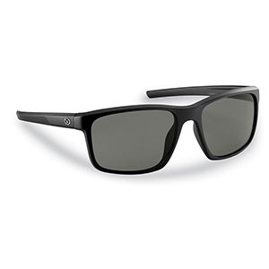 Flying Fisherman 7320BS Rip Current Sunglasses, Matte Black Frames With Smoke Lenses