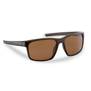Flying Fisherman 7320CA Rip Current Sunglasses, Brown Frames With Amber Lenses