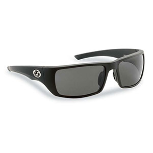 Flying Fisherman 7382BS Morocco Polarized Sunglasses, Matte Black Franes With Smoke Lenses