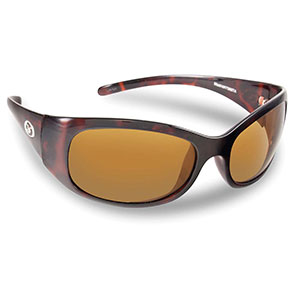 Flying Fisherman 7398TA Madrid Polarized Sunglasses, Tortoise Frames With Amber Lenses