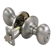 Design House 740449 Egg 2-Way Latch Entry Door Knob, Adjustable Backset