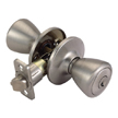 Design House Tulip Universal Latch Entry Door Knob, Adjustable Backset - 740639
