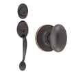 Design House Coventry 2-Way Entry Handle Set with Egg Knob - 741009
