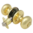 Design House Cambridge 2-Way Latch Privacy Door Knob Adjustable Backset - 741272