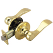 Design House 742445 Pro Springdale Hall and Closet Door Handle, Polished Brass